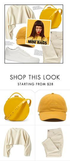 """""""Mini-Bags: Daffodil Yellow"""" by aesthetictm ❤ liked on Polyvore featuring Nico Giani, Vans and Uniqlo"""