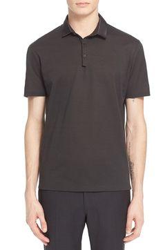 LANVIN Grosgrain Collar Polo. #lanvin #cloth #