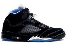 Air Jordan 5 (V) Retro LS - White - Black University Blue $99