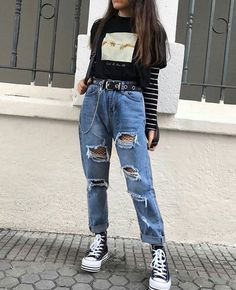 125 outstanding grunge outfits ideas for women – page 1 Indie Outfits, Teen Fashion Outfits, Retro Outfits, Cute Casual Outfits, Fresh Outfits, Rock Outfits, Kpop Outfits, Cool Outfits For Girls, Grunge School Outfits