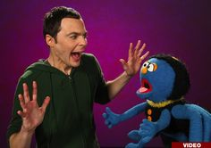 Watch Jim Parsons on 'Sesame Street' - PopWrap