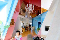 Residence in Chiba by Kazuyasu Kochi, アパートメントハウス by 河内一泰
