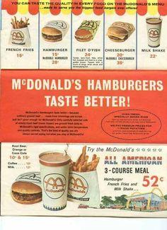 McDonald's 1960's