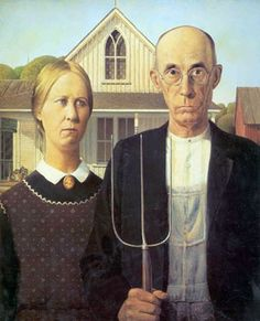 """""""American Gothic"""" painting - see all state name origins"""
