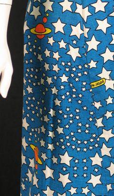Peter Max 1960s maxi skirt