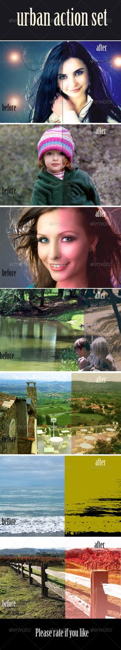 Buy Urban Action Set by Morash on GraphicRiver. Urban Action Set Beautiful Actions for Pro Photography Files Included Atn File Readme Extras 7 Actions Included Photography Pics, Photoshop Photography, Effects Photoshop, Photoshop Actions, Photoshop Photos, Corporate Flyer, Icon Design, Flyer Design, Photo Effects