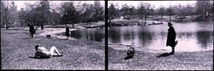 "Eve Sonneman, Photographer, ""Long Lake, Central Park, New York"""