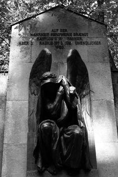 German cemetery angel