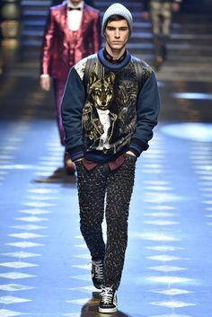 Dolce Gabbana Milan Menswear Fall Winter 2017, desfile masculino, tendencia masculina, inverno 2017, winter 2018, alex cursino, blog de moda, moda sem censura (106)