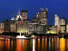 Gotta love Pittsburgh - culture, water, architecture, neighborhoods, beer, Steelers...and people who appreciate it all
