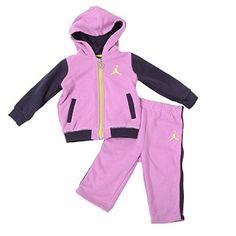 afdfac3ac1448 Fleece Hoodie, Baby Girls, Air Jordans, Sweatpants, Kicks, Little Girls,  Air Jordan, Rompers, Toddler Girls