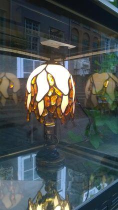 Amber lamp Art work