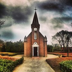 Kleinste kerkje van Nederland, Dinxperlo / smallest church in The Netherlands