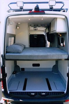 Sportsmobile offers 50 camper van plans or will customize to meet your camping/travel needs, since Two and four wheel drives, gas and diesel vans. Second home/second car. Kombi Motorhome, Camper Trailers, Campervan, Kangoo Camper, Sprinter Camper, Mercedes Sprinter, Custom Camper Vans, Custom Vans, Van Bed