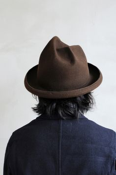 Mountain Research - Say whaaaat! Beaver Hat, Mountain Hat, Navy And Brown, Mens Fall, Outfits With Hats, Headgear, Hats For Men, Headpiece, Mens Fashion