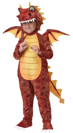 Dragon Fire Costume-Omg Kolton can be our Game of Thrones dragon ♥