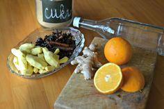 Voňavý zázvorový likér s kořením a pomeranči – Bohyně kuchyně Dairy, Cheese, Food, Syrup, Essen, Meals, Yemek, Eten