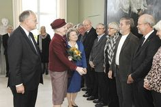 Queen Margrethe at the Diocese of Roskilde October 27, 2014