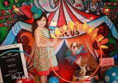 www.thepropshops.com Favorite newborn photography prop  CIRCUS DREAMS Backdrop