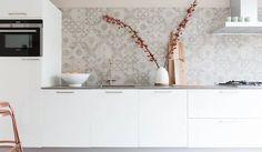 Afbeeldingsresultaat voor tegels keukenwand voorbeelden