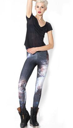Amazon.com: QZUnique Women's Black Skeleton Frame Printed Elastic Tights Leggings: Clothing