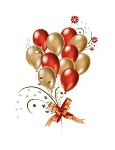 Gold-Red_Balloons_Clipart.png (569×744)
