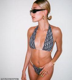 See the best celebrity bikini pictures of including photos of Bella Hadid, Kylie Jenner and Emily Ratajkowski in swimsuits. Sexy Bikini, Bikini Girls, Hailey Baldwin, Bikini Pictures, Bikini Photos, Mädchen In Bikinis, String Bikinis, Girls In Bikinis, Bikini Mode