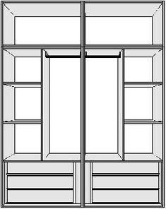 Clothes Cabinet, Bedroom Wall Designs, Redecorate Bedroom, Bedroom Cupboard Designs, Bedroom Closet Design, Small Closet Room, Small Room Bedroom, Wardrobe Door Designs, Cupboard Design