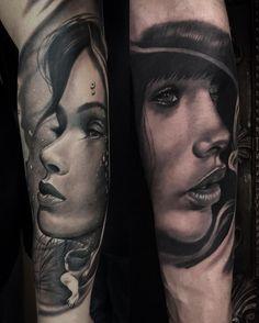 David Garcia tattoo #realistic #portrait #tattoo