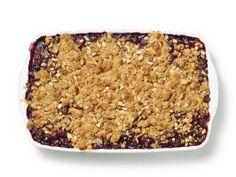Blueberry-Oatmeal Crisp