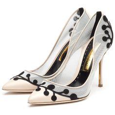 Rupert Sanderson High Heel Pumps (12 085 ZAR) found on Polyvore featuring shoes, pumps, heels, kohl shoes, decorating shoes, high heel pumps, high heel shoes and heels & pumps