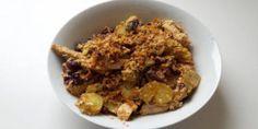 Kartoffeln mit Hähnchen und Ei  auf kochen-verstehen.de #kochen #rezepte #kochrezepte #kochenverstehen