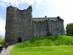 Doune Castle, Scotland (thanks for the reminder, I had forgotten all about visiting this one!)