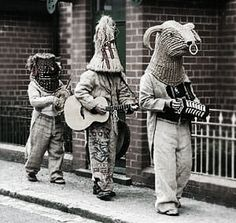 mummers- very cool but would take a lot of work to maker versions that horn…