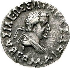 Hermaios 40-1 BC tetradrachm 40 / 1 BC Brb. R. / Zeus enthroned l. Mitchiner 420. very fine    Dealer  Teutoburger Münzauktion & Handel GmbH    Auction  Minimum Bid:  50.00EUR