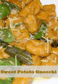Sweet Potato Gnocchi with Sage Brown Butter Sauce Gluen Free #Recipe #WhollyHungryChefs