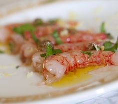 Fish Recipes, Gourmet Recipes, Cooking Recipes, Healthy Recipes, Slow Food, Sushi Salad, Carpaccio, Eating Raw, Italian Recipes