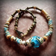 A gift from the Little Mermaid by Praguebeads on Etsy