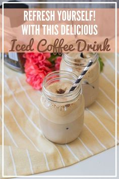 Frappés are a Greek-style easy homemade coffee drink. This recipe is frothy, cold and full of delicious flavor! On hot summer days, frappé is our go-to drink when sitting out on a terrace with friends instead of heading out to Starbucks. #kenarry #ideasforthehome Frappe Coffee Recipe, Coffee Smoothie Recipes, Cold Brew Coffee Recipe, Coffee Recipes, Healthy Coffee Drinks, Cold Coffee Drinks, Espresso Recipes, Vegan Recipes Easy, Summer Days