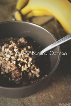 Slow Cooker Banana Oatmeal Recipe