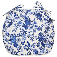 Версаль синий покрытием французский стиль стул Pad Ле Клюни