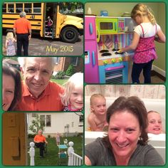 Weekend Blessings with our Grand-Daughters!! Let the fun begin... #grandparents #grandpa #grandma #grandkids #granddaughters #school #kitchen #toys #makebelieve #dolls #sisters #family #love
