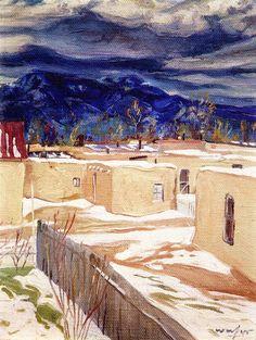Taos Mood , by Walter Ufer