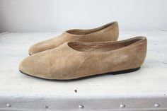 BENETTON Vintage Flat Shoes