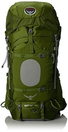 Your complete online source for leading brands of outdoor equipment, camping and hiking needs; as well as guides and product reviews. Osprey Men's Aether 70 Backpack, Bonsai Green, Medium