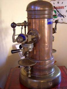 http://www.idecz.com/category/Espresso-Machine/ Vintage Victoria Arduino espresso machine