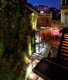 fabrica moritz, microbrewery & taps bar in building designed by Jean Nouvel, barcelona
