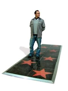 Boulevard Walk of Fame -can also be personalised with YOUR name!