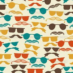 Vector Seamless Hipster Pattern  #GraphicRiver         Vector Seamless hipster pattern with glasses and mustache, fully editable eps 10 file with pattern in swatch menu                     Created: 28 November 13                    Graphics Files Included:   JPG Image #Vector EPS                   Layered:   Yes                   Minimum Adobe CS Version:   CS             Tags      design #drawn #element #eye #eyeglasses #face #fashion #glass #glasses #hair #hipster #illustration #moustage…