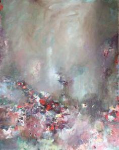 "Saatchi Art Artist ADRIENNE SILVA; Painting, ""We'll Meet in The Middle"" #art"